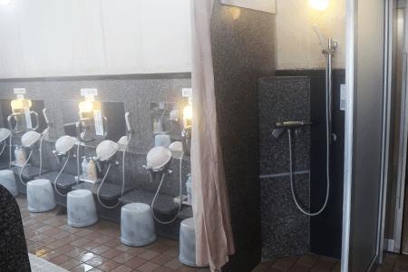 掛け湯つぼ/洗い場・シャワー写真