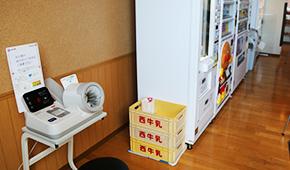無料血圧計/自動販売機