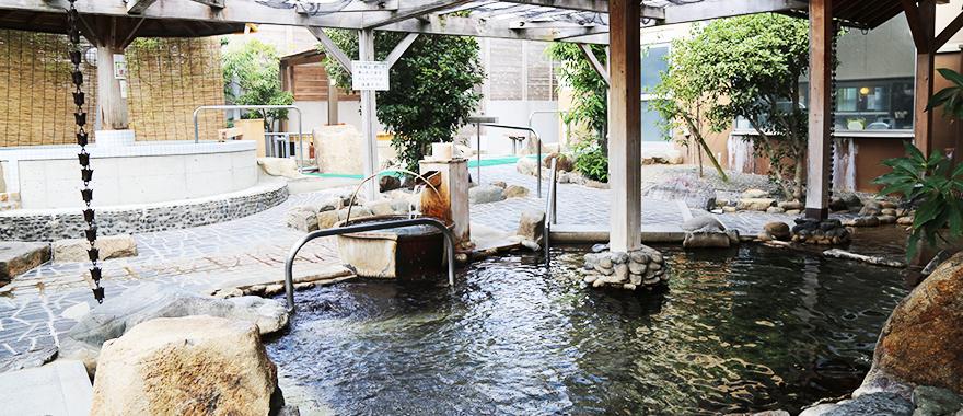 露天風呂 写真2